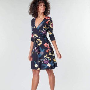 "Desigual Floral Crossed Dress ""Tropic India"""